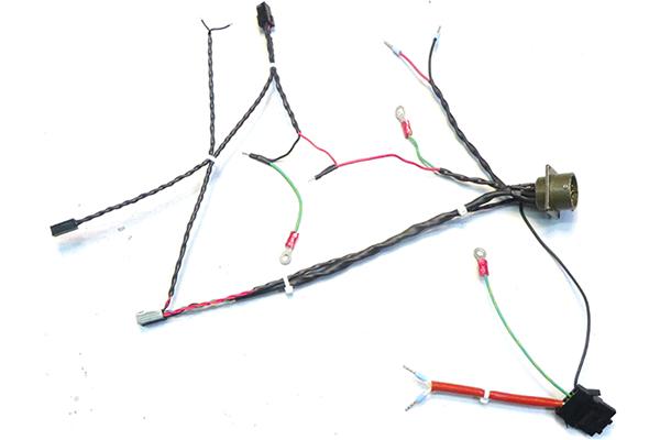 Connectique de câble pour rayon x