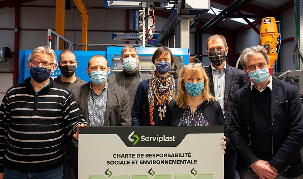 RSE équipe Serviplast